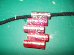 gel pen necklace